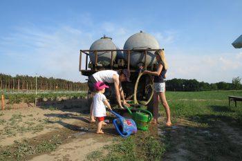 Wasser für den trockenen Sommer 2018